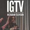 Logo Instagram TV y las estrellas de televisión