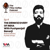 Logo The Drinkscovery of India with Pushpanjali Banerji