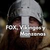 Logo FOX, vikingos y manzanas