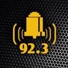Logo Gustavo Desplats en Hanglin, un apellido de radio por FM 92,3