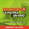 """logo Decisión 96.7 """"La política en vivo"""""""