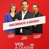 Logo Fede Guala. Vos a Diario. Columna de Economia. Sep 07