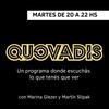 Logo Peter Lanzani en Quovadis