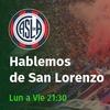 Logo Programa de @HablemosdeSL del 12-11-17,con la palabra de José Devecchi y Gonzalo García. #SanLorenzo