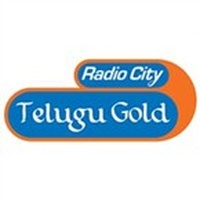Logo Radio city telugu gold