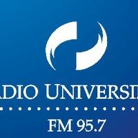 Logo FM 95.7 Radio Universidad Mar del Plata