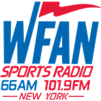 Logo WFAN Sports Radio