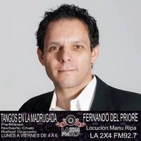 Logo Tangos en la madrugada (Fernando Del Priore)