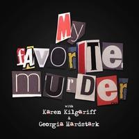 Logo My Favorite Murder with Karen Kilgariff and Georgia Hardstark