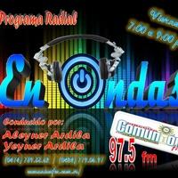 Logo Programa de Radio En Ondas