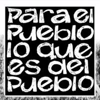 Logo PARA EL PUEBLO LO QUE ES DEL PUEBLO