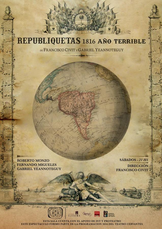 """Resultado de imagen para """"Republiquetas - 1816 año terrible"""